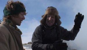 Clive Oppenheimer and Werner Herzog
