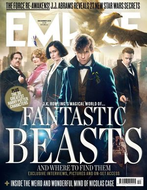 New Empire Magazine Cover Features a New Era of Magical Char