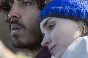 Dev Patel and Rooney Mara in