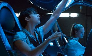 Dane DeHaan and Cara Delevingne in Valerian And The City of