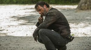 Andrew Lincoln as Rick, Season 6 Premiere