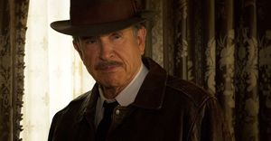 Warren Beatty as Howard Hughes in