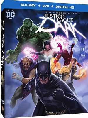 Stunning box art revealed for 'Justice League Dark'