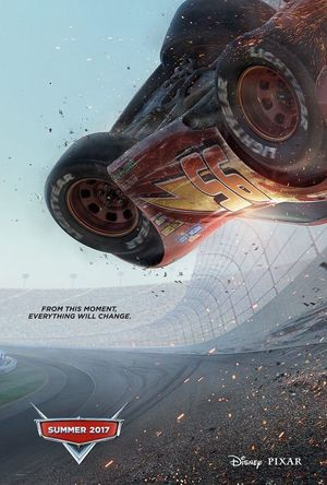 'Cars 3' Poster Zooms in on Lightning McQueen's life-changin