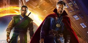 Chiwetel Ejiofor (on the left) as Baron Mordo