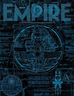 Empire magazine reveals in-depth Death Star plans on the cov