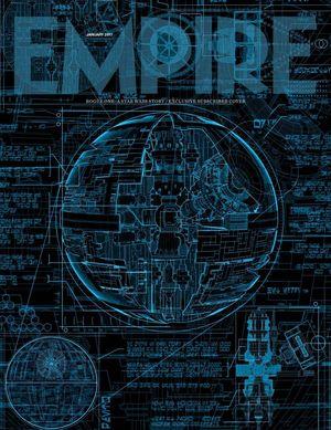 Empire magazine reveals in-depth Death Star plans on the cov