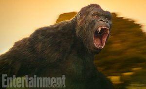 First look at King Kong in Warner Bros.' 'Kong: Skull Island