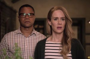 Cuba Gooding Jr and Sarah Paulson