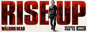 Key art for The Walking Dead season 7B teases the war ahead