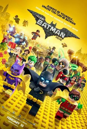 New poster for The Lego Batman Movie