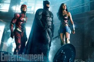 Epic new photo of The Flash, Batman, and Wonder Woman
