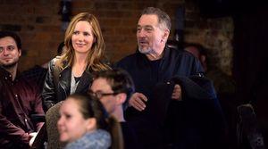 Leslie Mann and Robert De Niro in