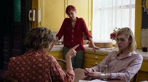 Annette Bening, Greta Gerwig and Elle Fanning in