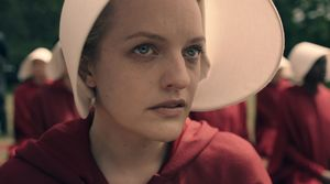 Elizabeth Moss in The Handmaid's Tale