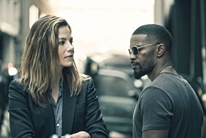 Michelle Monaghan and Jamie Foxx in