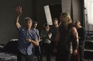 First official image from the set of 'Thor: Ragnarok'