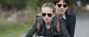 Britt Robertson and Asa Butterfield in