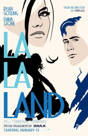 Official IMAX poster for 'La La Land'