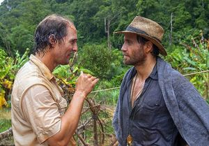 Matthew McConaughey and Edgar Ramirez in