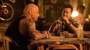 Vin Diesel and Donnie Yen in