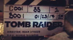 Tomb Raider begins filming