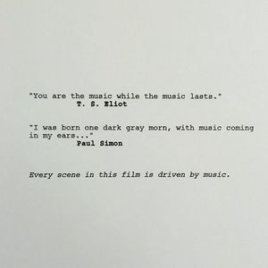 The first page from Edgar Wright's 'Baby Driver' gives a pre