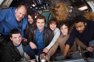 The first image of the cast from the Han Solo spinoff film