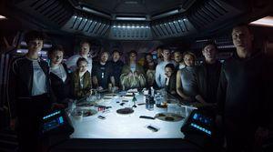 Photo reveals the entire cast of 'Alien: Covenant'