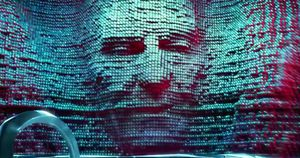 Zordon (Bryan Cranston) in
