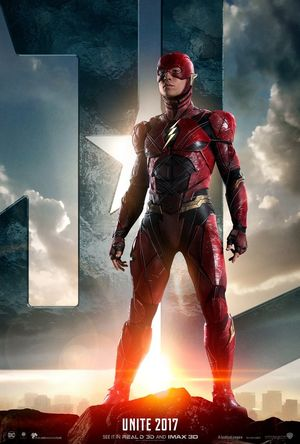 First poster for The Flash ahead of the official 'Justice Le