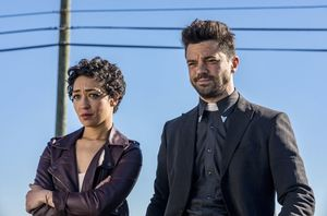 Ruth Negga and Dominic Cooper in Preacher