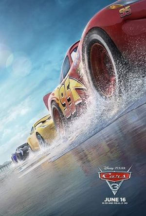 New poster for Cars 3