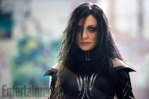 Cate Blanchett as Hela