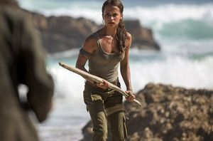 First look: Alicia Vikander in 'Tomb Raider'