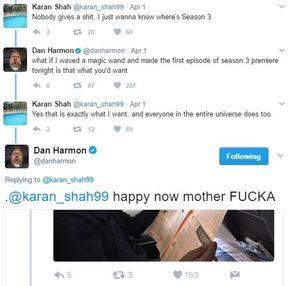 Dan Harmon Tweets new season