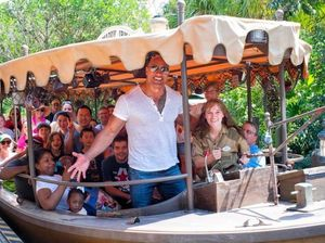 The Rock preparing for his next role in Disney's 'The Jungle