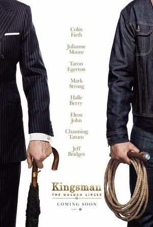 New poster for Kingsman: The Golden Circle