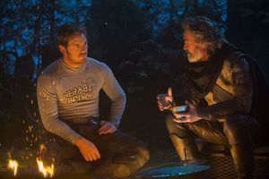 Chris Pratt and Kurt Russell