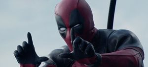 Deadpool Film Frame Fingers