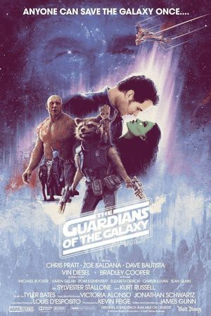 Guardians of the Galaxy Vol. 2 Poster By: Matt Ferguson