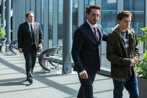 Tony Stark and Peter Parker in 'Spider-Man: Homecoming'