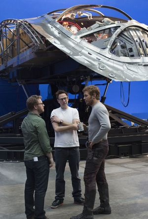 'Guardians of the Galaxy Vol. 2' Behind the Scenes Photo