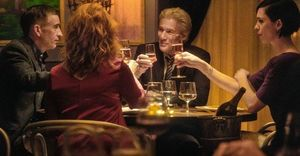 Steve Coogan, Laura Linney, Richard Gere and Rebecca Hall in