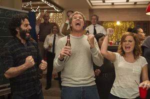Jason Mantzoukas, Will Ferrell and Amy Poehler in