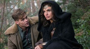 Chris Pine and Gal Gadot in