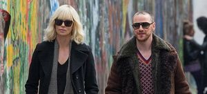 Charlize Theron and James McAvoy in