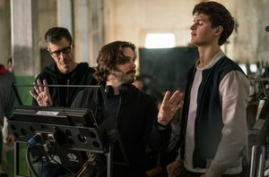 Edgar Wright and Ansel Elgort - Baby Driver