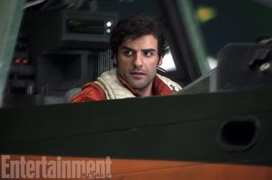Oscar Isaac as X-wing ace Poe Dameron  Tomorrow, EW has a st