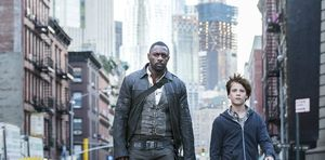 Idris Elba and Tom Taylor in The Dark Tower